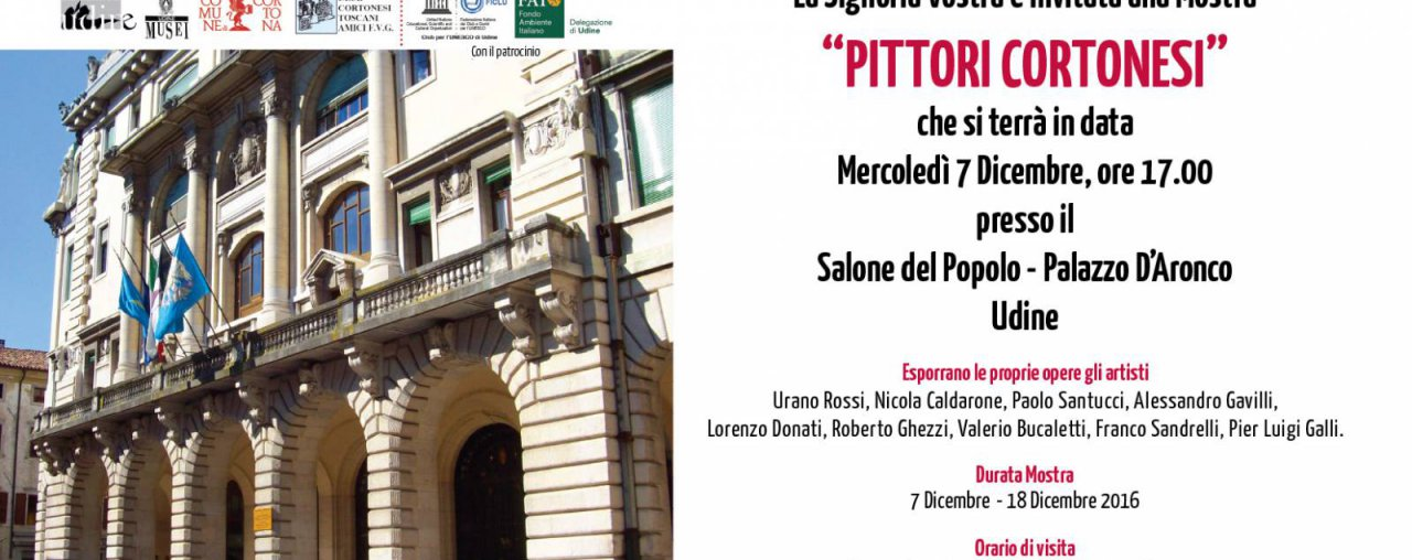 Mostra Palazzo d'Aronco  – Udine