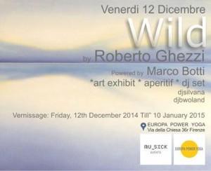 volantino Wild di Roberto Ghezzi   Copia